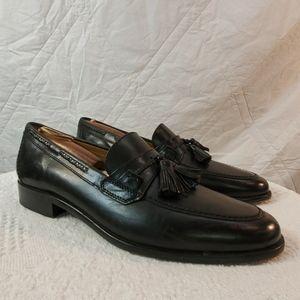 Johnston & Murphy black shoes men's size 8.5
